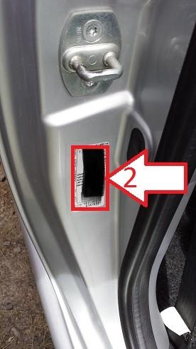 Toyota Aygo (2005-2008) - NumerVIN.com - Gdzie jest VIN ...